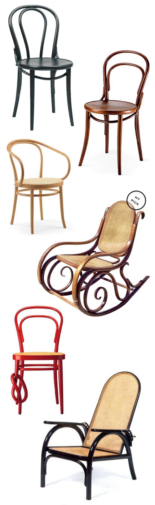 Thonet-chairs